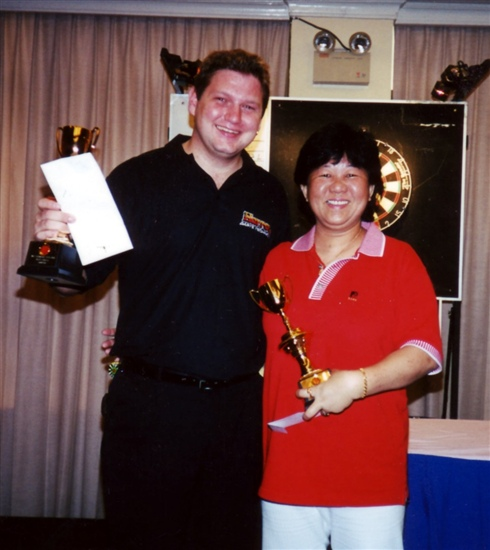 Peter Whalsten Singapore Open Champion 2001